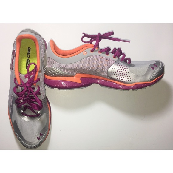 Under Armour Womens Running Sneakers Micro G 8.5 6ab80c60977